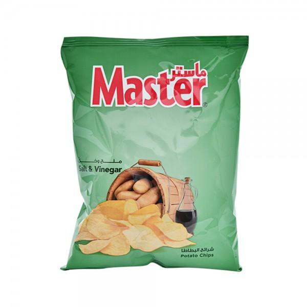 Master Chips Salt and Vinegar 34g 138814-V001 by Master Chips