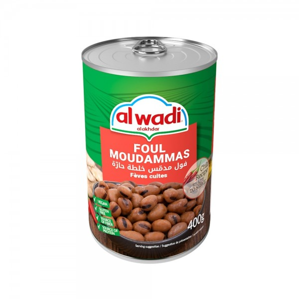 Al Wadi Al Akhdar Foul Moudammas Hot Recipe 138850-V001 by Al Wadi Al Akhdar