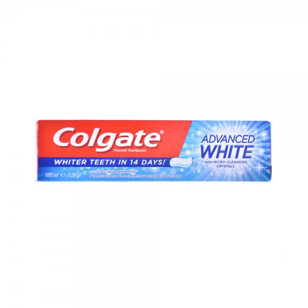 Colgate Advanced Whitening Toothpaste 125ml 138975-V001 by Colgate