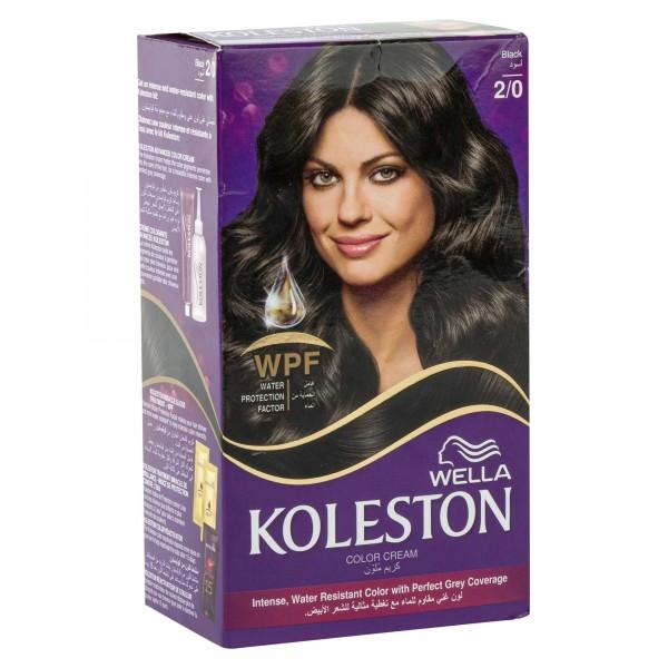 Wella Koleston Black 2/0 120ml 139056-V001