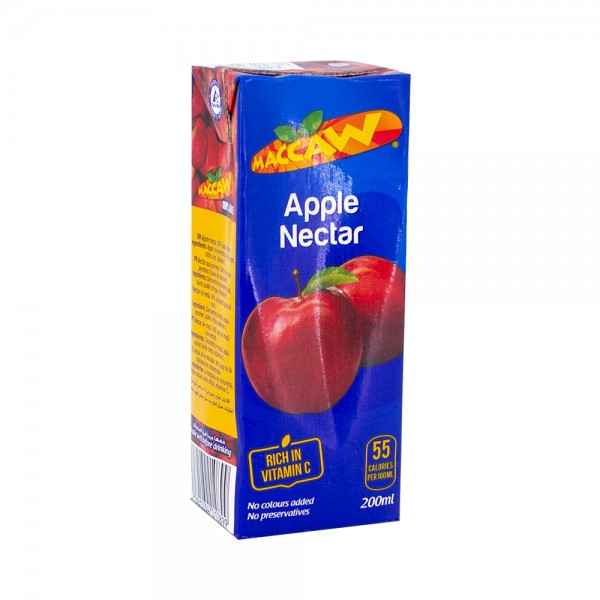 Maccaw Apple Nectar 200ml 140122-V001