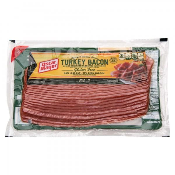 Oscar Mayer Turkey Bacon Gluten Free 32 Slices 12Oz 140825-V001 by Oscar Mayer