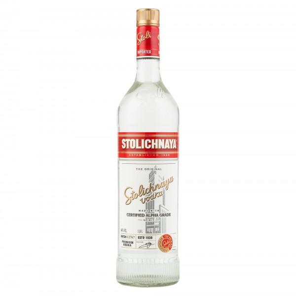 Stolichnaya Russian Vodka 1Lt 141131-V001