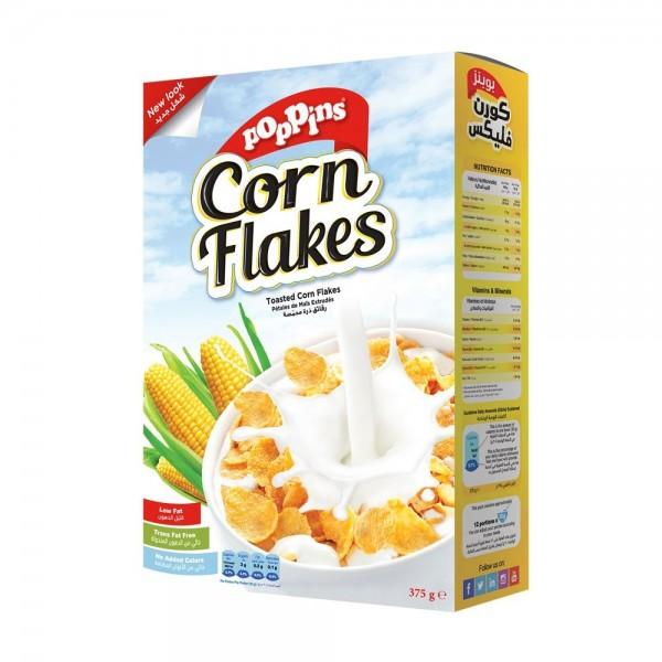 Poppins Corn Flakes + 33% Size - 500g 141138-V003 by Poppins