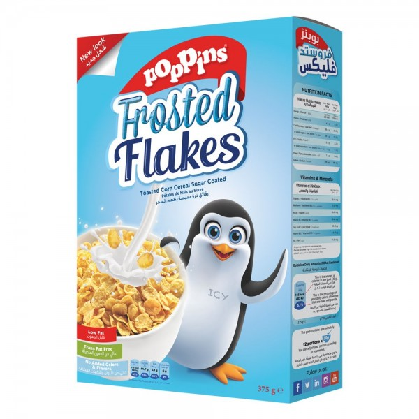 Poppins Frosted Flakes 375G 141141-V001 by Poppins