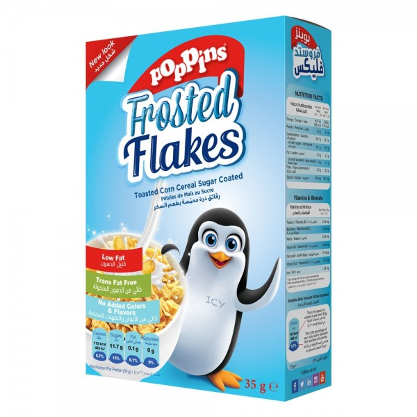 Poppins Frosted Flakes 35G 141145-V001 by Poppins