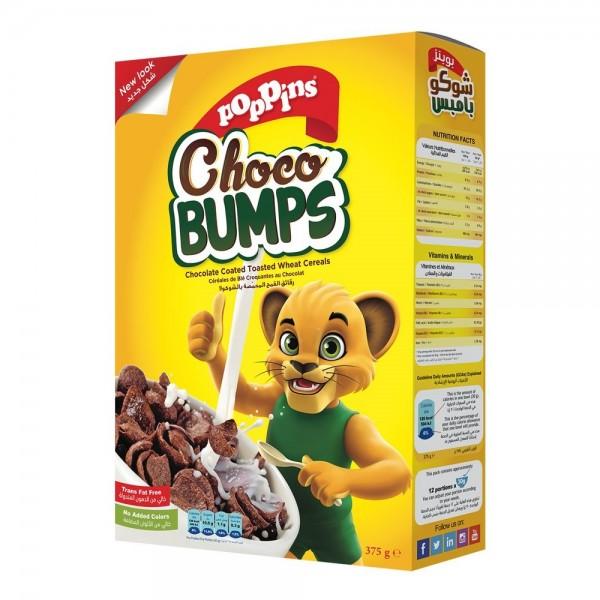 Poppins Choco Bumps + 33% Size - 500g 141153-V003 by Poppins