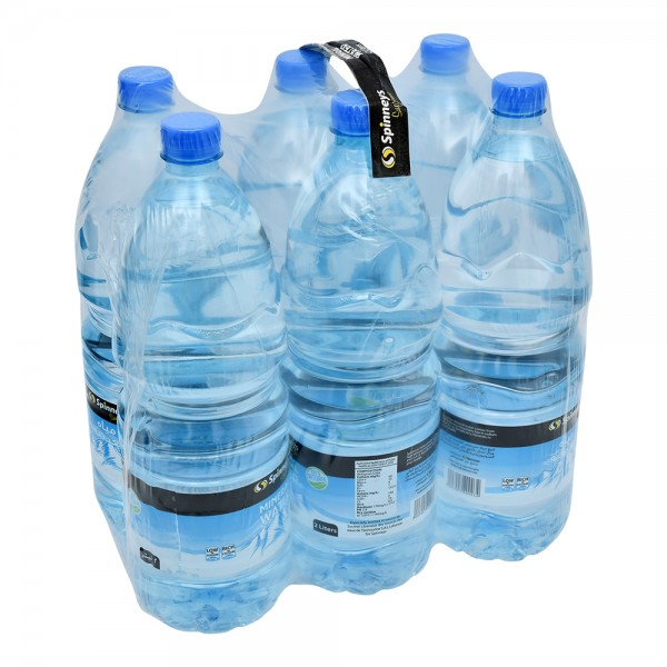 Spinneys Mineral Water Bottle 6x2L 141167-V001 by Spinneys Food