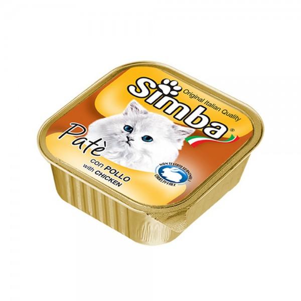 Simba Wet Cat Alutray Chicken - 100G 141194-V001 by Simba