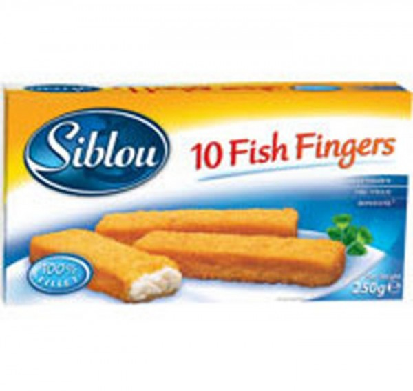 Siblou 10 Fish Fingers - 250G 141315-V001 by Siblou