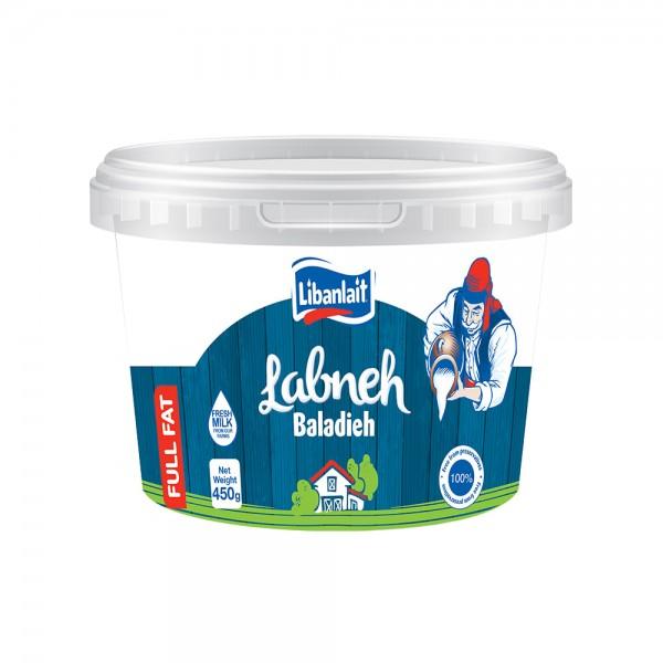 Libanlait Labneh Baladieh Full Fat 450G 141685-V001 by Libanlait