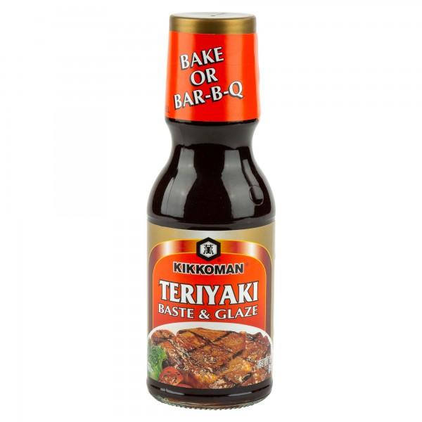 Kikkoman Teriyaki Baste & Glaze Sauce 12oz 141536-V001