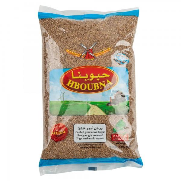 Hboubna Brown Coarse Bulgur 1000G 141646-V001
