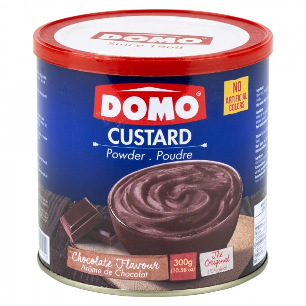 Domo Custard Powder Chocolate 340G 141688-V001