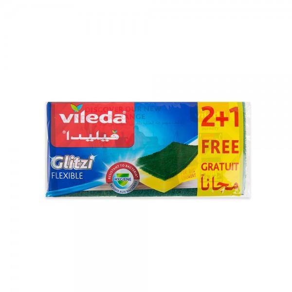 Vileda Glitzi Sponge 3 Pieces 141740-V001 by Vileda