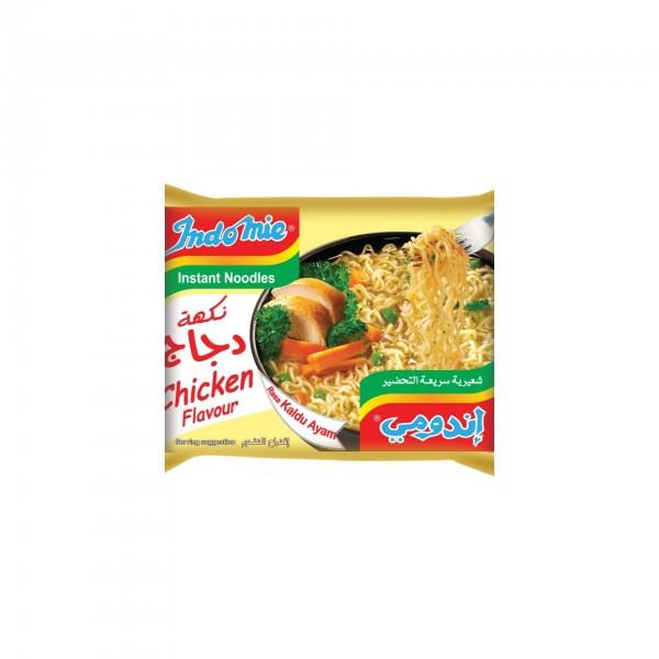Indomie Chicken Noodles Flavor - 75G 142974-V001 by Indomie