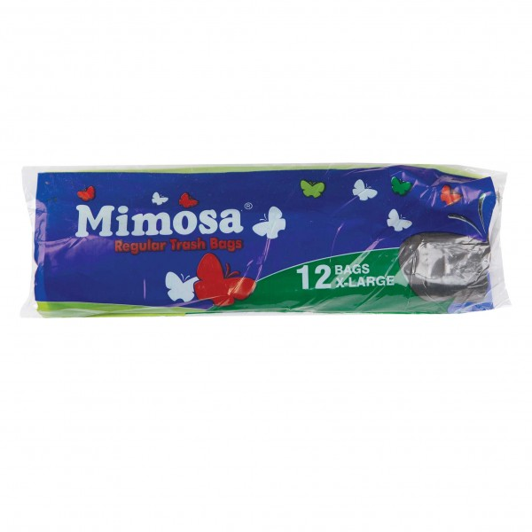 Mimosa Trash Bags X-Large 12 Pieces 143593-V001 by Mimosa