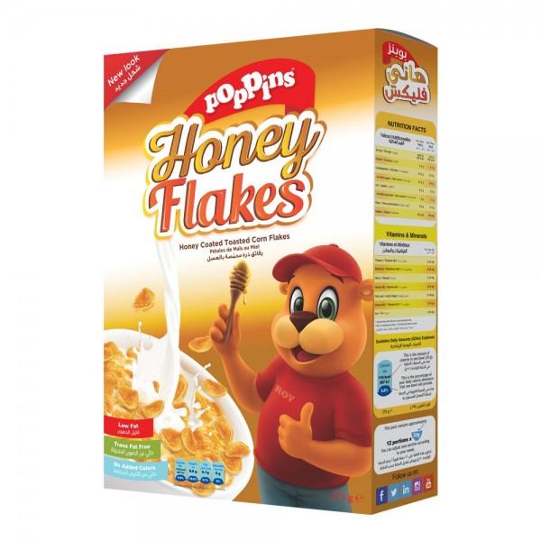 Poppins Honey Flakes 375G 144262-V001 by Poppins