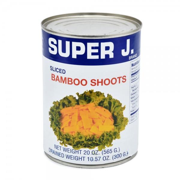 Super J Bamboo Shoots - 565G 144924-V001 by Super J