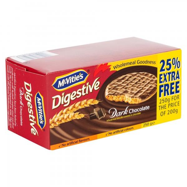 McVitie's Digestives Original Dark Chocolate 200G 145324-V001 by McVitie's