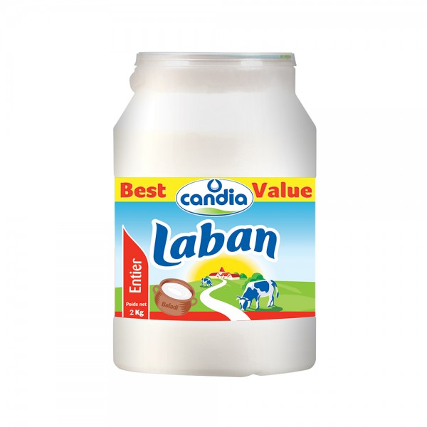 Candia Laban Whole Milk 2kg 145659-V001 by Candia
