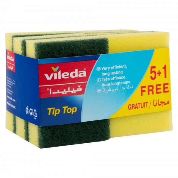 Vileda Tip Top Sponge 5 Pieces 146567-V001 by Vileda