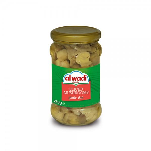 Al Wadi Al Alkhdar Sliced Mushrooms Jars 146705-V001 by Al Wadi Al Akhdar