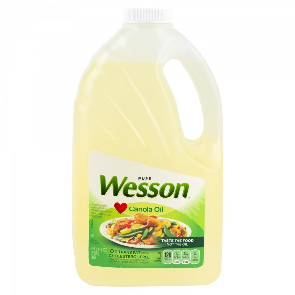Wesson Canola Oil 1.89L 147760-V001 by Wesson