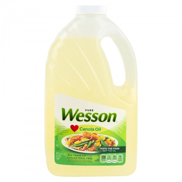 Wesson Canola Oil 3.79L 335543-V001 by Wesson