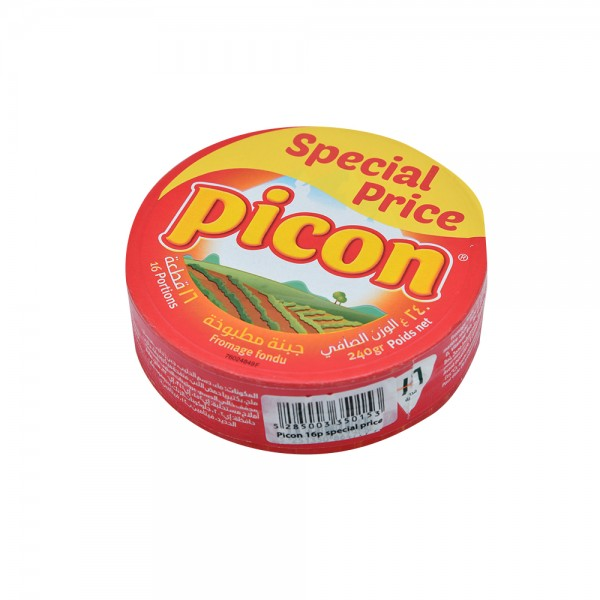 Picon Cheese Portions 16 Pieces 240G 148495-V001 by Picon
