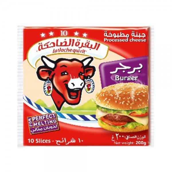 Vqr Slice Cheese Burger 149117-V001 by La Vache qui rit