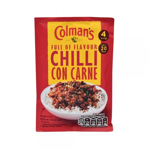 Colman's Chili Con Carne Sauce Mix - 50G 161441-V001 by Colman's