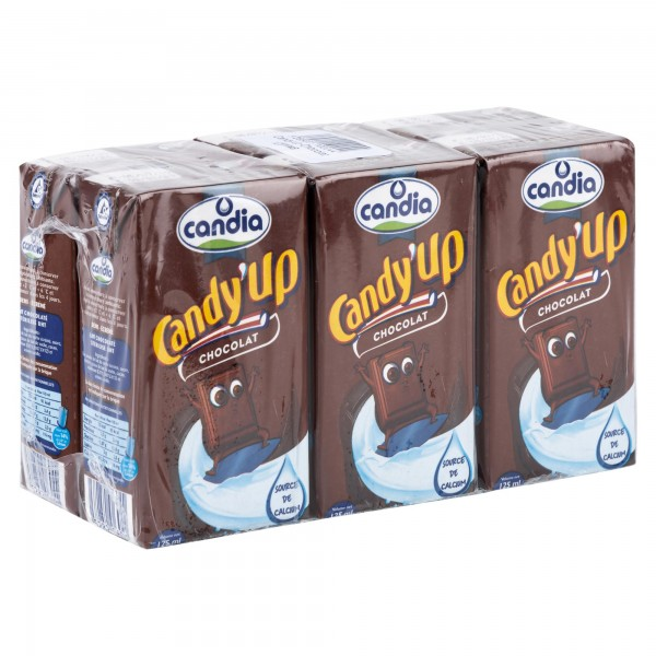 Candia Candy Up Chocolate 6x125ml 162973-V001 by Candia