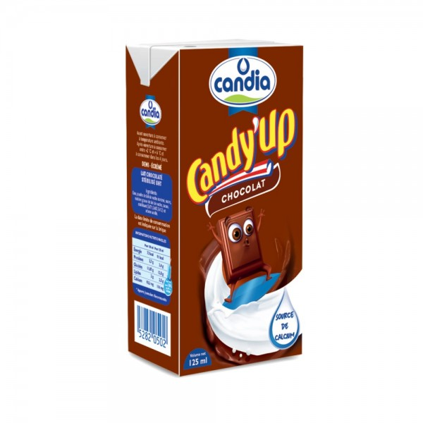 Candia Candy Up Chocolate 125ml 162973-V001 by Candia