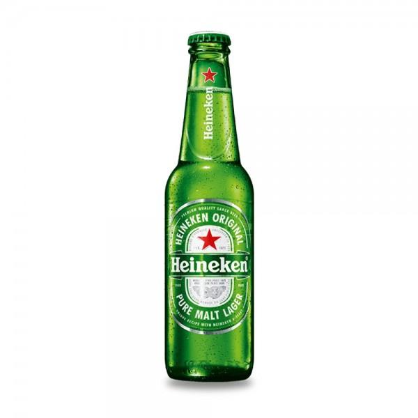 Heineken Lager Beer Bottle 33cl 163123-V001 by Heineken