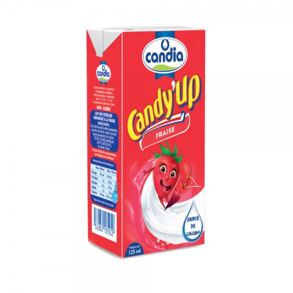Candia Candy Up Strawberry 125ml 163297-V001 by Candia