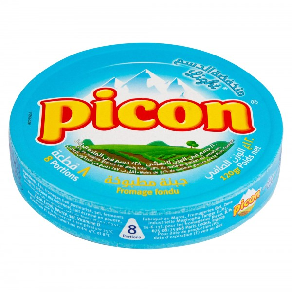 Picon Cheese Light With 10% Fat 8 Portions 128G 163303-V001 by Picon