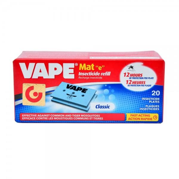 Vape Mousquito Mat 20Pc 163802-V001 by Vape