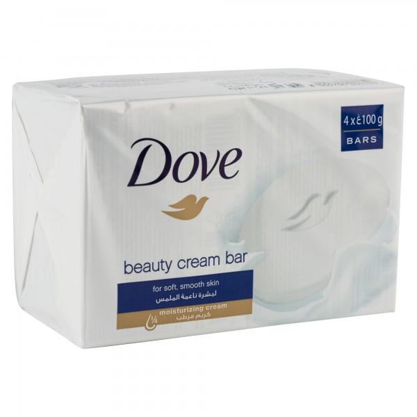 Dove Beauty Cream Bar White 400G 164659-V001 by Dove