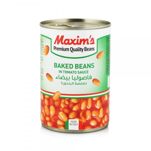 BAKED BEANS IN TOMATO SAUCE 164796-V001 by Maxim's