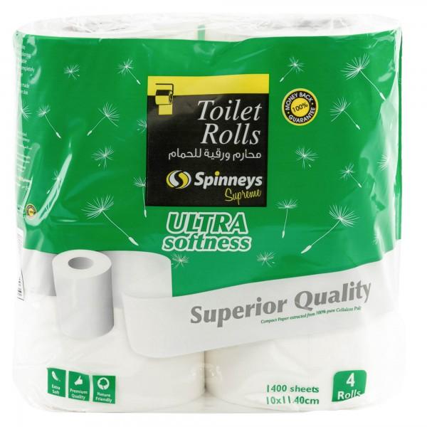 Spinneys Toilet Rolls Super Deluxe Rolls 165329-V001 by Spinneys Supreme