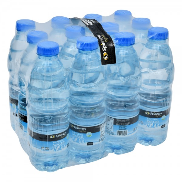 Spinneys Spring Mineral Water 12x500ml 167171-V001 by Spinneys Food