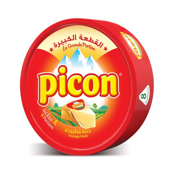 Picon Cheese Portions 8 Pieces 160G 168853-V001 by Picon
