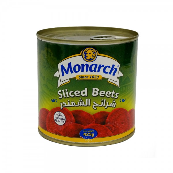 Monarch Sliced Beets Canned 15.5oz 171126-V001 by Monarch