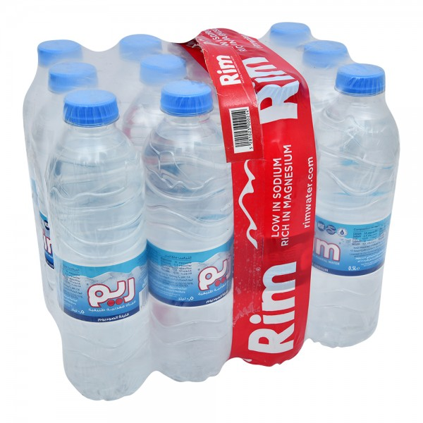 Rim Spring Mineral Water 12x500ml 171739-V001 by Rim Water