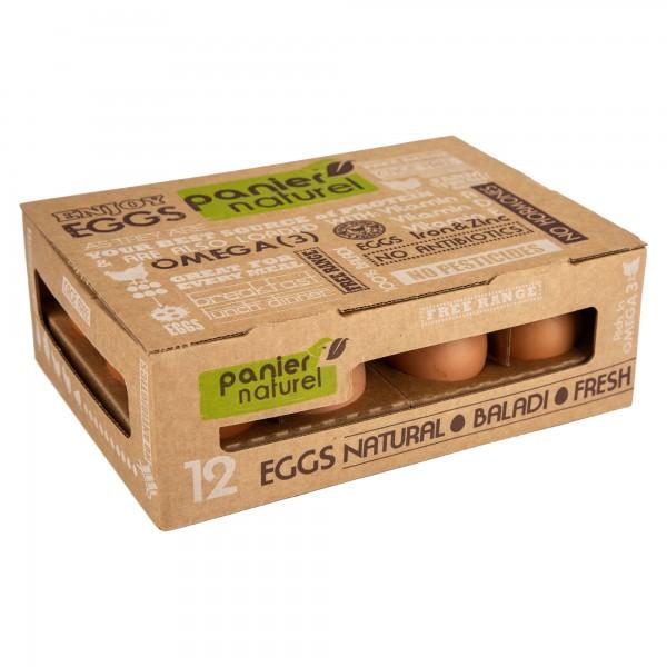 Panier Nat Balady Eggs X2 172726-V002 by Panier Naturel