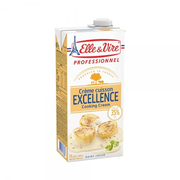 Elle & Vire Crème Fraiche Special Cuisson 1L 182047-V001 by Elle & Vire