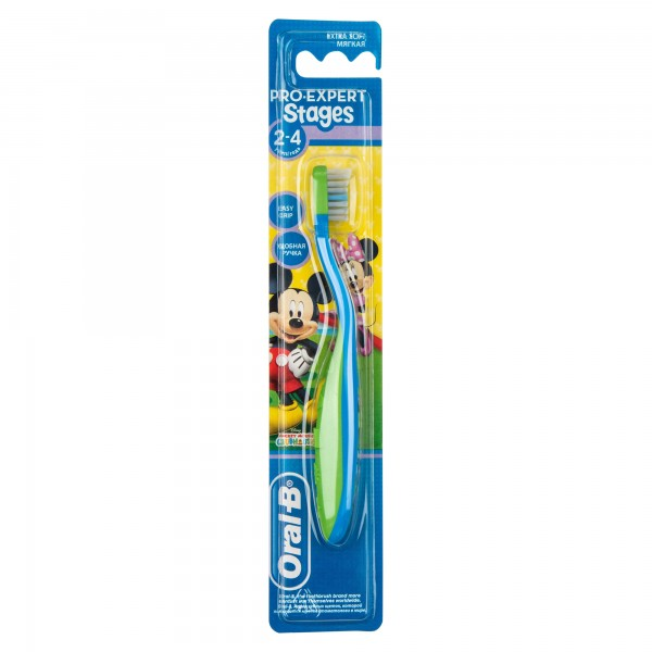 Oral-B Baby Toothbrush 2-4 1 Piece 190179-V001 by Oral-B