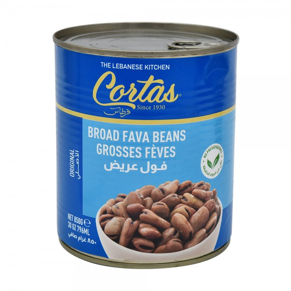 BROAD FAVA BEANS 201370-V001 by Cortas Food