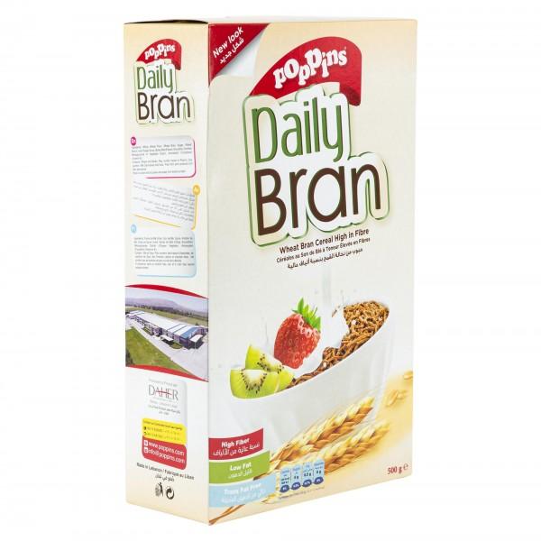 Poppins Daily Bran Breakfast Sticks 500G 201629-V001 by Poppins